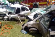 One dead, five injured in accident