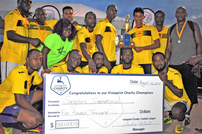 MBJ lift Vistaprint Charity Football - MBJ lifted the second staging of the Vistaprint Charity Football Competition