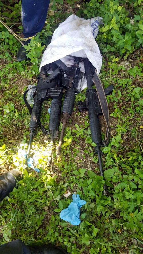 Shocking gun find in Flanker