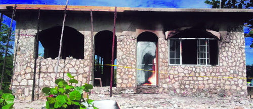 DNA to identify fire victims