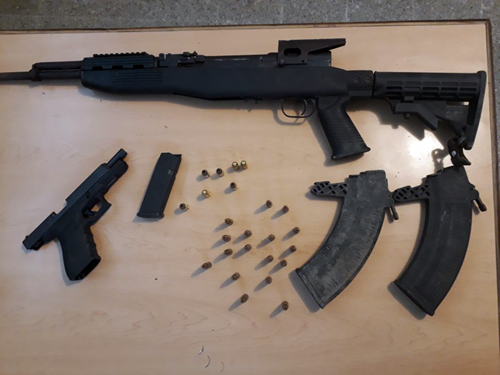 Two more guns seized
