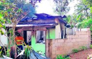 Fire leaves 102-y-o homeless