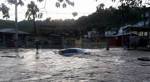 Never before seen - Heavy rainfall drenches Hanover