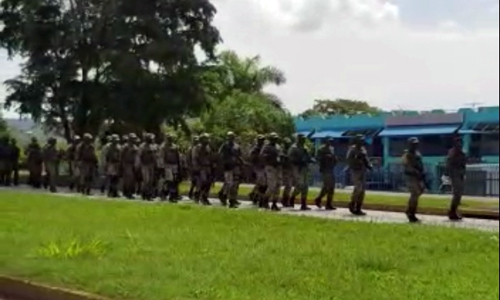 Jamaicans in support of military coup