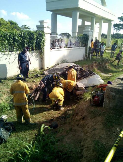 Children, driver killed in accident