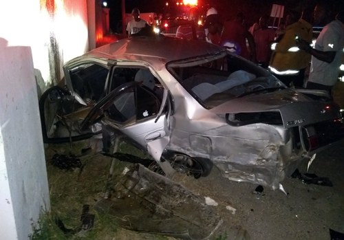 Crash claims two