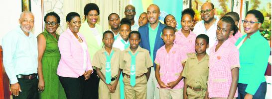 Junior Schools Challenge Quiz finalists feted