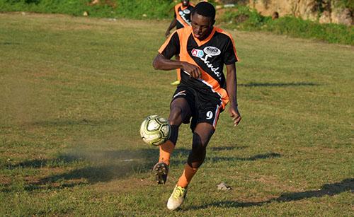 Aiden Jokomba a football star