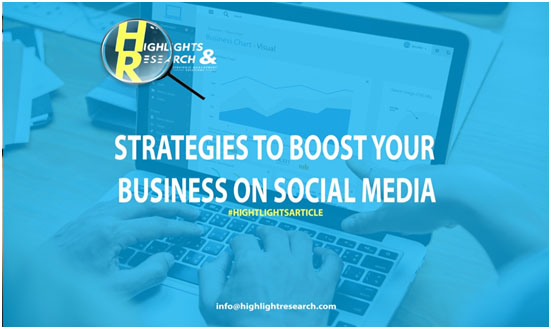 Strategies to boost your business on social media